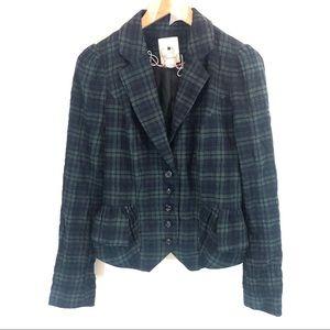 Anthropologie Elevenses Garment District Blazer